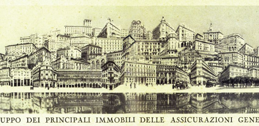 Other campaigns - 'Generali city', an unusual photomontage