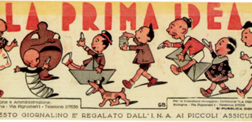 Other campaigns - 'La prima idea' Ina's newsletter for young policy-holders