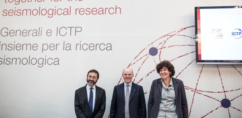 Generali and ICTP team up to study risk from earthquakes - Generali signs agreement with ICTP