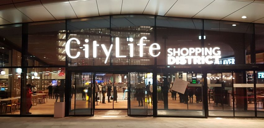 Milano welcomes the CityLife Shopping District