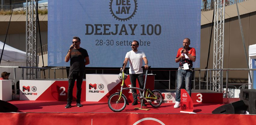 Generali is DJ100's Main Sponsor