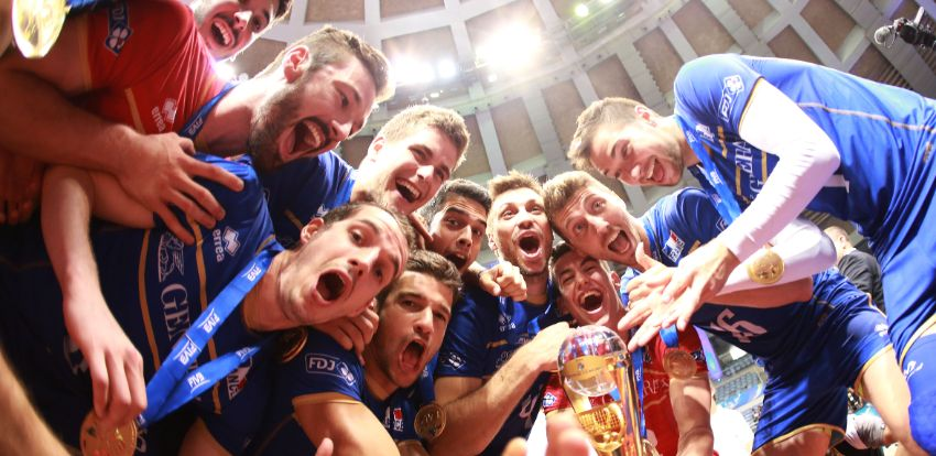 French volleyball on top of the world with Generali