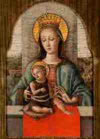 The extraordinary house-museum, for the third year in a row will be open to the public from 8 April to 15 November 2016. Vittorio Cini's complete collection will be accessible for the first time - Carlo Crivelli, Madonna con il Bambino (Sesto decennio del XV secolo)