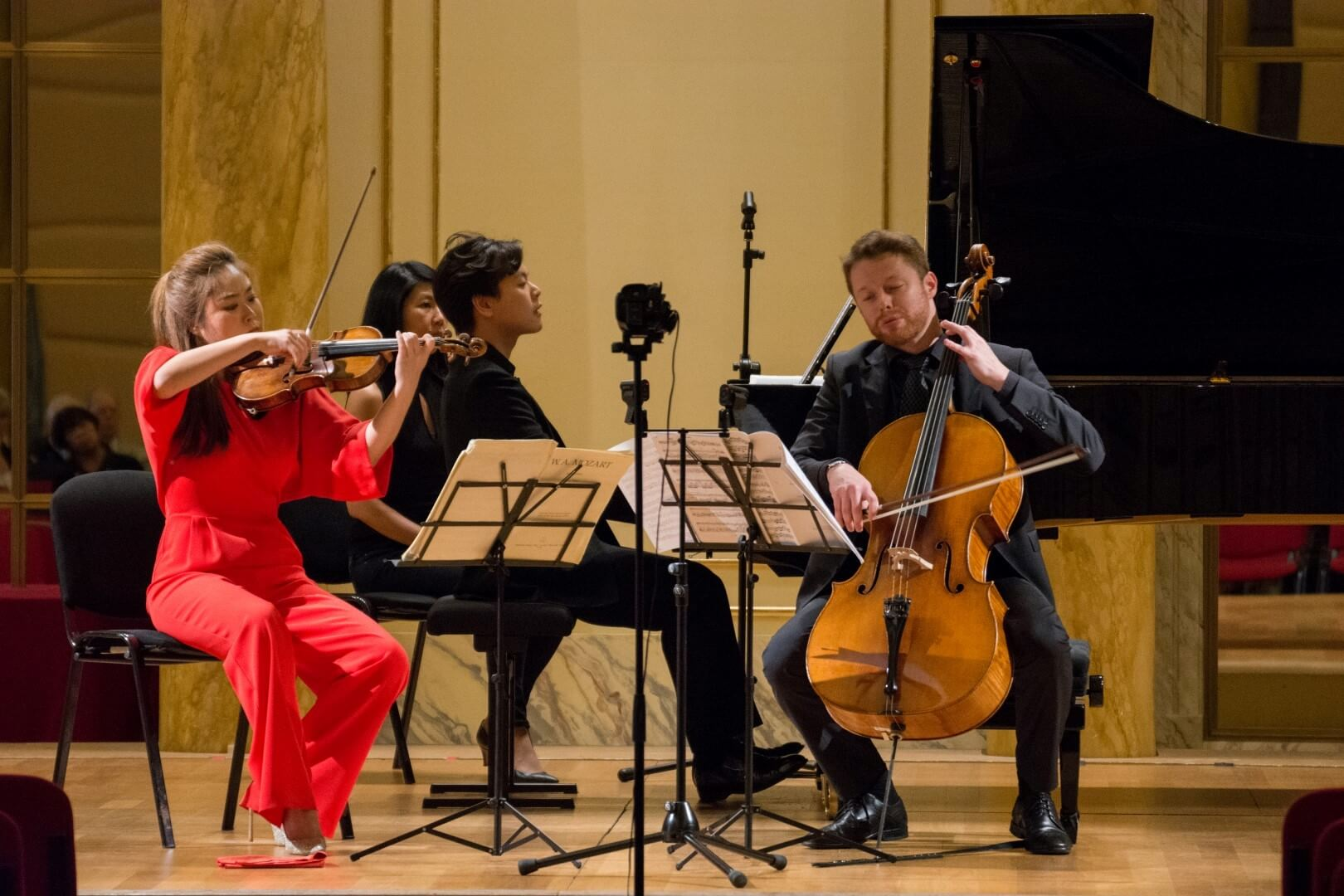 "Generali and the ""Trio di Trieste"" Prize supportyoung talent in classical and contemporary music"