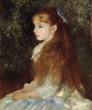 "The exhibition ""Histories of the Impressionism"" is opening: more than 6.000 participants to the Generali Tour with the curator Marco Goldin - Pierre-Auguste Renoir - Mademoiselle Irène Cahen d'Anvers, 1880 - Zurig, Stiftung Sammlung E.G. Bührle"